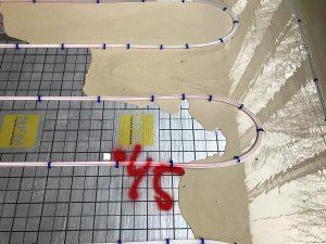 NFM golvvärmeplattor med NFM värmeslingor